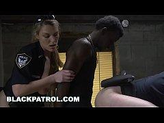 BLACK PATROL - Domestic Disturbance Call Ends W/ Thug Eating White Cop Ass
