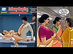 Velamma Episode 68 - Railway Coupling – Running...
