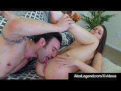 Fat Cock Alex Legend Pounds Tiny Twat & Tiny Ti...