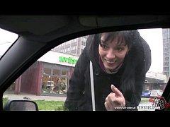 Bitch STOP - Skinny Slovak brunette gets anal f...