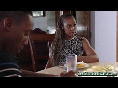 Hot ebony MILF and a black teen chick having a groupsexDUpload