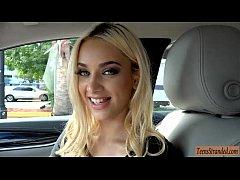 Seductive teen blonde hottie...