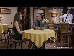 FuckingAwesome - The Waiter - Elena Koshka