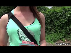 German Scout - Pia (18) bei Street Casting Anal...
