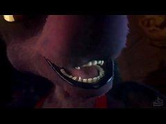 Jackal Vore Animation