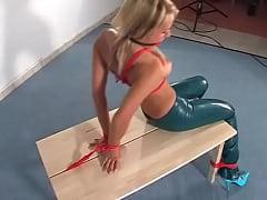 Bondage on table