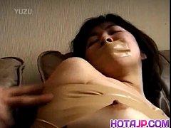 Japanese AV Model gets sex toys