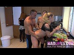 MadLifes.com - Reality show porno español Orgia...