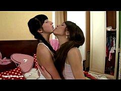 Playful Lovers sensual lesbian scene by SapphiX