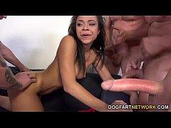 Adrian Maya Enjoys Taking A Bunch Of White Dicks