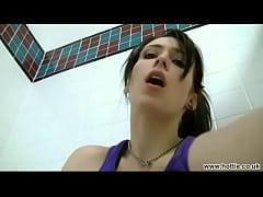 Kelly fingering herself in public gym shower