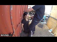 Screw the Cops - Latina bad girl caught sucking a cops dick