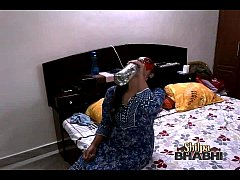 thumb shilpa bhabh  indian amateur teasing hubby in bed playing with her bigtits