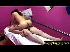 Asian masseur gives him...