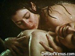 Vintage Lesbians 1970 - Wet...