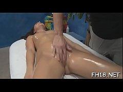 Sexy cutie massage