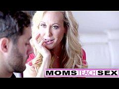 Step mom Brandi Love fucks teen daughter and fr...