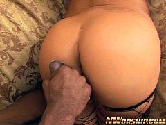 hot anal interracial with Naomi big round ass