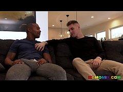 Submissive white dude seduces the black veterin...