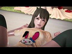 3D hentai anime Kotori Minami ( Love Live )