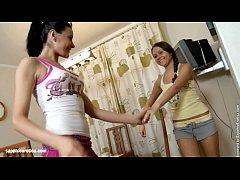 Sexual Massage sensual lesbian scene by SapphiX