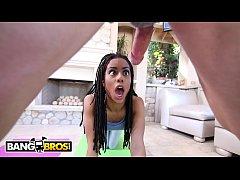 BANGBROS - Black Yoga Newbie Kira Noir Gets Fuc...