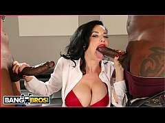 BANGBROS - Veronica Avluv Takes Big Black Dicks...