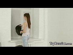 Fit Russian teen Girl...