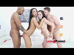 Joanna Black & Inga Devil anal & DP 4some for Legal Porn SZ1004
