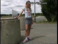 thumb blond teen publ  ic upskirt