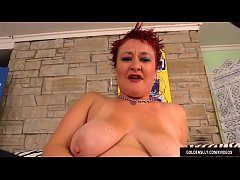 Mature Redhead Scarlett O'Ryan Plays with Herse...