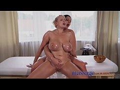 Massage Rooms Mature women with big natural tit...