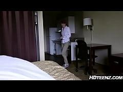 thumb hotel maid gets  fucked by guests ts ts ts