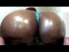 big fat ebony booty shake