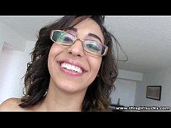 ThisGirlSucks Latina with glasses...