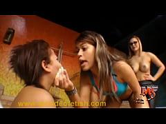 Scissorhold Gang Domination - Multi Girls Headscissors
