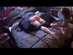 Rickker Paddled On The Bed By Mistress Liz