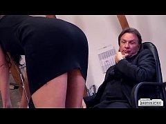 thumb bums buero naug  hty fuck in the office with b e office with br office with br