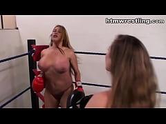 Big Titty Boxing vs Bigger Tits Boxing