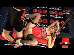 Mom Juliette tries the German Bukkake Arena - German Goo Girls