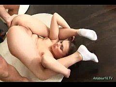 Flexible amateur babe fucked...