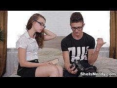 Nerdy xvideos photo-lover Rita Milan youporn ge...