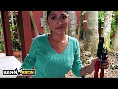 BANGBROS - Shy Latina Maid Camila Casey Strips ...