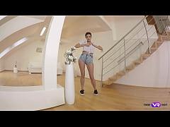 TmwVRnet.com - Penelope Cum - Chick shows satis...
