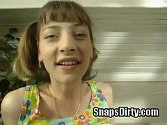 teen in bathroom from SnapsDirty