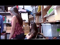Two teen shoplifter got...