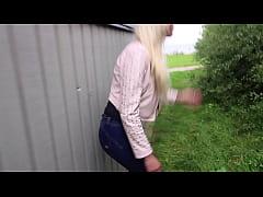 Dansk porno, blonde pige