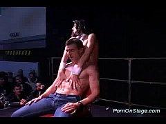 Scandal on stage stripper sex