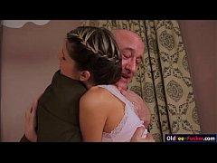 Teen Doris Ivy seduces her older stepdad