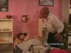 Grand Dad Wakes Micaela
